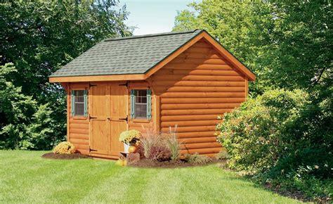 Log Storage Shed by Log Sided Sheds Log Sided Garages Log Sided Storage Sheds