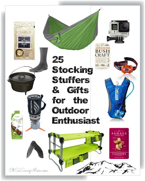 outdoor gift ideas stuffers and gifts for the outdoor enthusiast