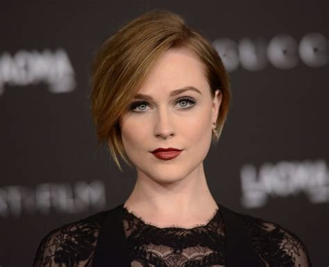 recent tv ads featuring asymmetrical female hairstyles celebrity haircut inspiration evan rachel wood s short