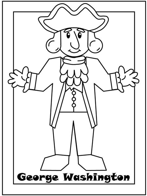 presidents day coloring pages preschool 17 best ideas about george washington presidency on