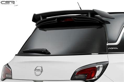 opel adam trunk rear tailgate roof spoiler wing trunk for opel adam opc