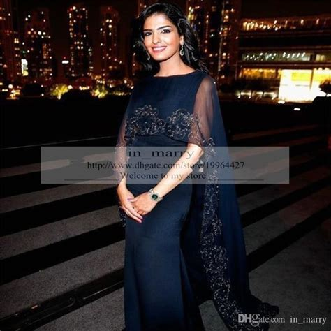Dress Daster India Turkey Style Navy navy blue arabic muslim dubai evening dresses with wrap 2016 mermaid plus size beaded sequins