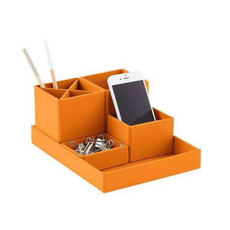 container store desk organizer bigso orange stockholm desktop organizer the container store