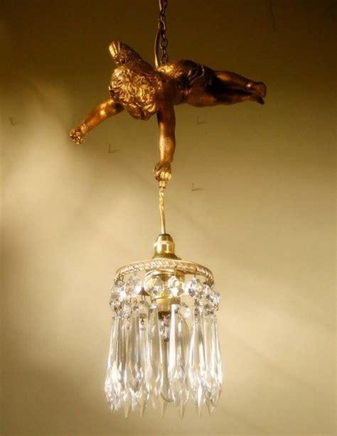 cherub chandelier flying cherub chandelier european foyer