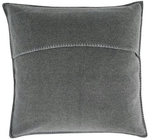 2 In 1 Decke Kissen by Kissen Soft Fleece Mittelgrau Meliert Interismo