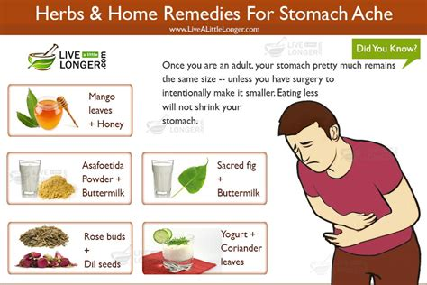 15 home remedies for stomach ache that effectively work
