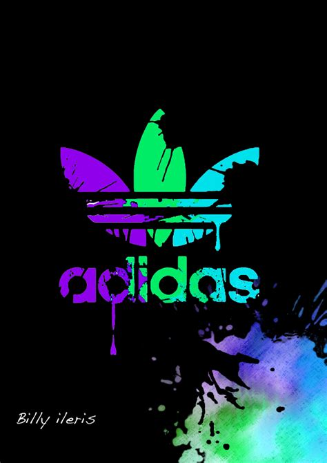 adidas wallpapers neon the gallery for gt adidas logo wallpapers neon