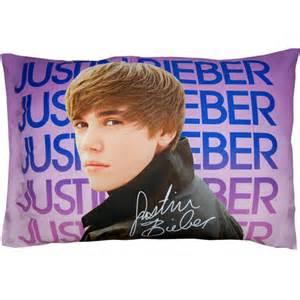 justin bieber water pillowcase purple walmart