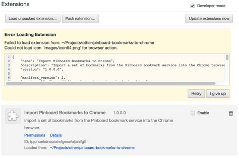 chrome developer mode creating my first google chrome extension part 1
