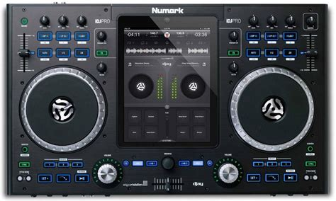 consola dj consola mezcladora idj profesional numark dj para