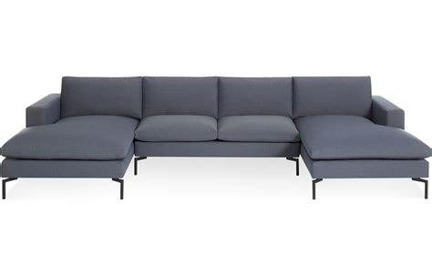 u sectional sofas new standard u shaped sectional sofa hivemodern com