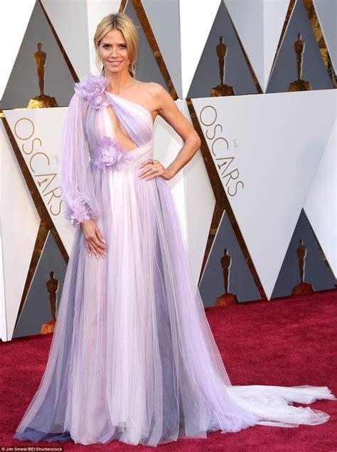 Dress Heidy oscars 2016 s worst dressed include heidi klum in a