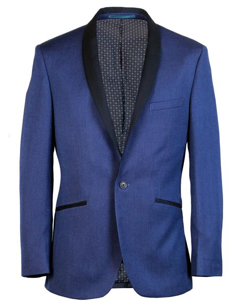 picture of 1950s prom tuxedo graceland retro 1950s vintage shawl collar tuxedo blazer