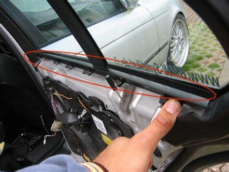Bmw 1er Cabrio Fensterheber Ausbauen by Bmw E39 Ausbau Hinterer Seitenscheibe