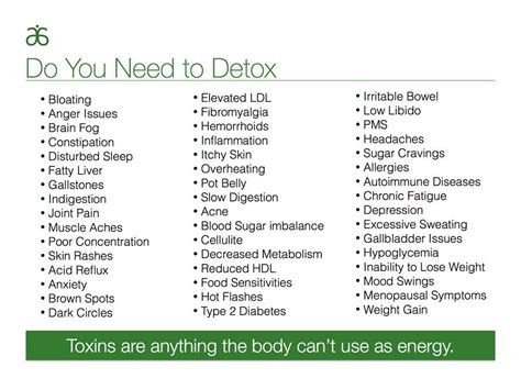When Do You Need Detox my arbonne adventures