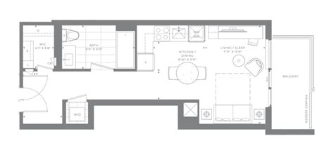look at suite layouts for m2m condos in york