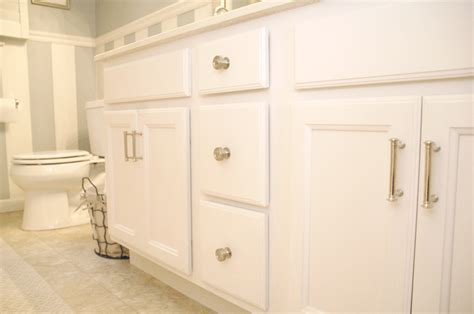 rustoleum cabinet transformations white bathroom cabinet transformation living rich on