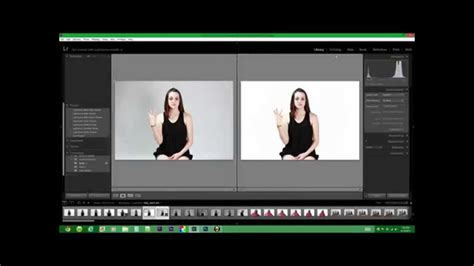 how to make the color white how to make a solid white background using lightroom and