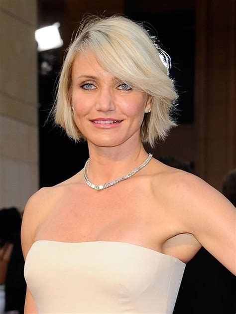 hairstyles cameron diaz bob cameron diaz new haircut short blonde bob hairstyle with