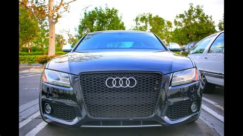 Audi A5 Grill by Audi S5 Grille Install