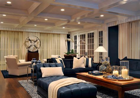 Home Decorators Tufted Sofa by Carolyn Miller Interiors Contemporary Family Room