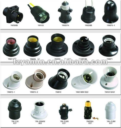 Light Bulb Socket Types by Bakelite Type E27 Lholder L Socket Base Light