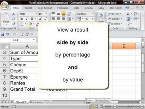 pivot table advanced tutorial excel tutorial 15 of 25 how to create a pivot table doovi