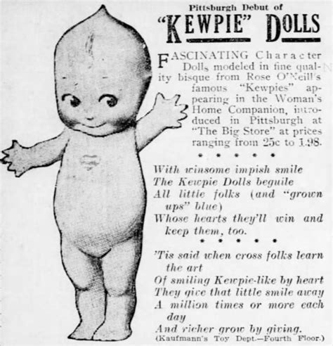 kewpie history springfield s o neill museum is stuffed with kewpies