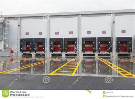 Parking Garage Designs loading docks royalty free stock photo image 27354575
