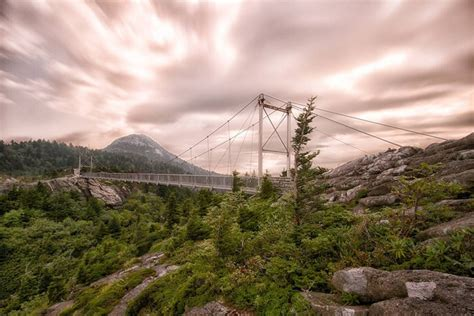 grandfather mountain swinging bridge grandfather mountain swinging bridge places i ve been