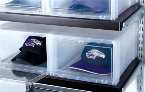 iris drop front shoe box iris drop front 6 set shoe box large clear new ebay