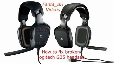 Headset Logitech G35 logitech g35 headset how to repair them