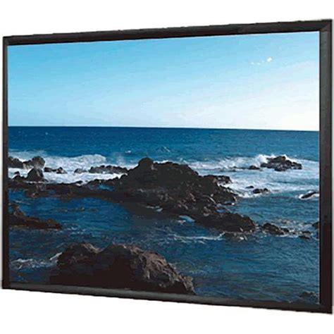 Simple Screen Fixed Frame 84 4 3 Soft Matte Grey 1 mustang sc f100w4 3 fixed frame projection screen sc f100w4 3