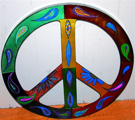 metal peace sign wall decor large metal peace sign wall flickr photo