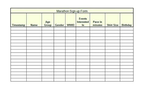 sample training sign in sheet template 13 download documents in pdf