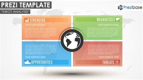 how to make a prezi template swot analysis prezi template prezibase