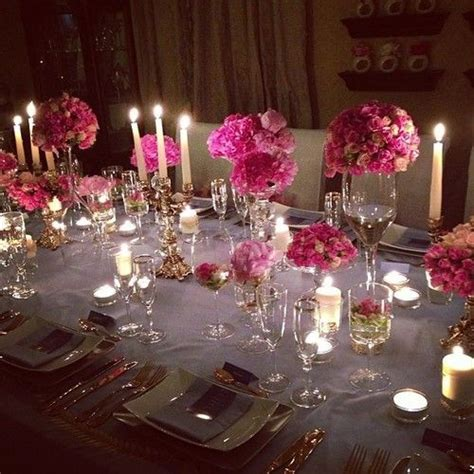 Elegant dinner party table setting #TheEnVISIONFirm