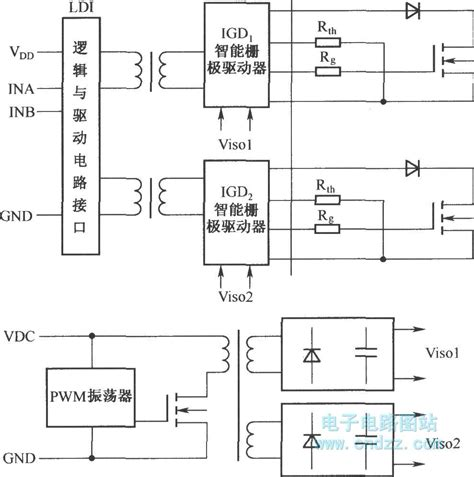 structure of large scale integrated circuit structure diagram of scale series integrated driver basic circuit circuit diagram