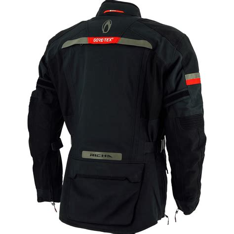 gore tex cycling rain jacket richa atlantic gtx motorcycle jacket thermal waterproof
