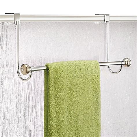 Towel Bars For Shower Doors Buy Interdesign 174 Astoria Shower Door Towel Bar From Bed Bath Beyond