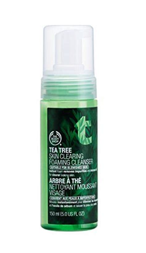Bodyshop Tea Tree Foaming the shop tea tree foaming wash reviews photos ingredients makeupalley