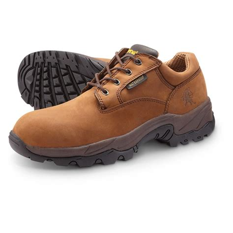 work shoes s chippewa boots waterproof oxford work shoes brown