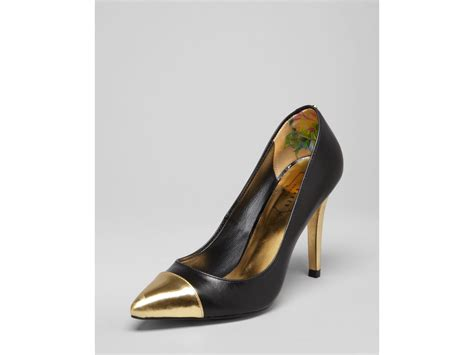 black pointed toe high heels ted baker pointed toe cap toe pumps saysa high heel in