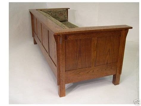 stickley prairie settle dimensions crafts