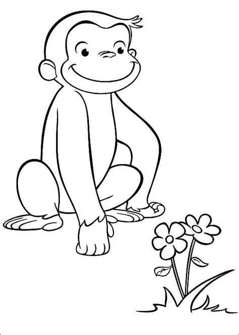 Fun Coloring Pages Curious George Coloring Pages Printable Curious George Coloring Pages