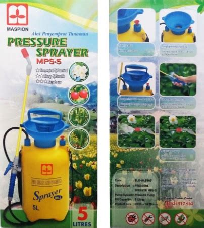 Alat Semprot Tanaman Terbaik jual alat semprot hama tanaman kapasitas 5 liter