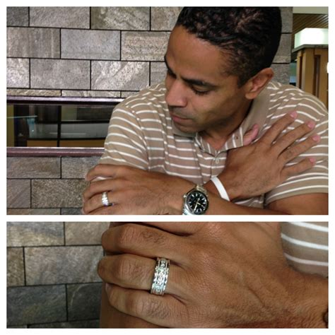 wearing wedding rings robbins brothers