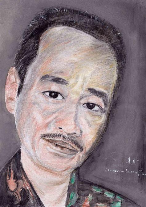acrylic paint adalah mr author drawing by linggar adalah mukhtar