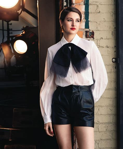 shailene woodley 2014 shailene woodley at john russo photoshoot for modern
