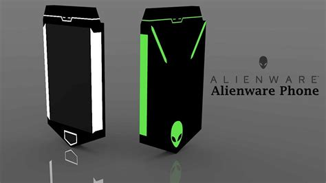mobile phone gaming alienware gaming mobile phone concept